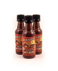 Kilauea Fire Hot Sauce 1.69 oz. Bottles