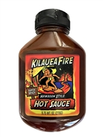 Kilauea Fire Hot Sauce 9.75 oz. Squeeze Bottles